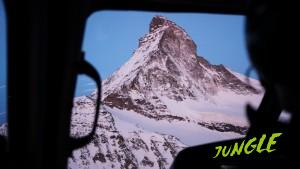 Matterhorn, one of the more famous peaks in the alps